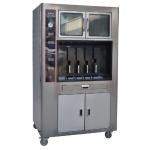 LIZE数控电烤鱼炉 四口烤鱼机 烤鱼店专用烤鱼炉连保温柜