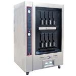 LIZE数控电烤鱼炉双层八口 电热自动烤鱼机 烤鱼店专用烤鱼设备