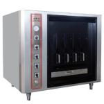 LIZE台式电烤鱼炉 四条鱼烤鱼机 电热烤鱼炉