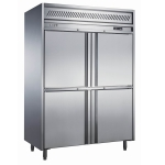 LIZE【丽彩】四门高身冷藏柜 风冷无霜四门高身雪柜 不锈钢四门冰箱 商用厨房冷柜