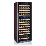 LVNI绿零红酒柜LN120D 葡萄酒柜120支双温红酒柜 红酒展示柜