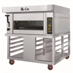 美厨高端电烤箱MGE-1Y-2 一层两盘电烤炉 多功能烤箱