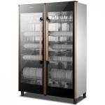 索奇YTP900-3A双门消毒柜 商用紫外线U型光波热风消毒碗柜