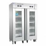 美厨双门推车消毒柜RTP720MC-8 热风循环消毒柜