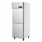 ICE MATE艾世铭IC-F-78A二门高身高温雪柜 不锈钢商用冷藏冰箱 厨房冷柜