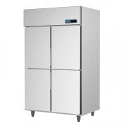 ICE MATE艾世铭IC-R-128A四门高身高温雪柜 不锈钢商用冷藏冰箱 厨房冷柜