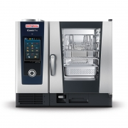 德国RATIONAL蒸烤箱SCC61G 燃气型 莱欣诺蒸烤箱 乐信燃气6层蒸烤箱