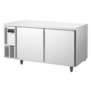 ICE MATE艾世铭IC-RT-158A二门平台高温雪柜 不锈钢商用冷藏冰箱 厨房冷柜