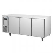 ICE MATE艾世铭IC-FT-188A三门平台高温雪柜 不锈钢商用冷藏冰箱 厨房冷柜