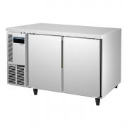ICE MATE艾世铭IC-FT-126A二门平台低温雪柜 不锈钢商用冷冻冰箱 厨房冷柜