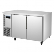 ICE MATE艾世铭IC-RT-126A二门平台高温雪柜 不锈钢商用冷藏冰箱 厨房冷柜
