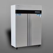 金伯特商用消毒柜 智能型高温热风循环 双门餐盘消毒柜