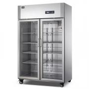 冰立方二门展示冷柜AS1.0G2 风冷无霜冷藏柜 Coolmes二玻璃门冰箱