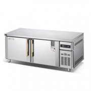 冰立方冷藏操作台WR18  二门保鲜工作台  平冷操作台冰箱