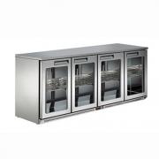 LIZE【丽彩】四门吧台展示柜 酒水饮料展示柜冰吧冷藏保鲜柜