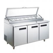 LIZE冷藏沙拉台冰箱小料工作台冷柜比萨冷藏操作台雪柜