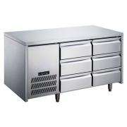 LIZE风冷抽屉冰箱 平台雪柜 风冷操作台冷柜 调理平台带抽屉