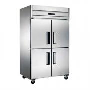 LIZE四门冷藏柜 不锈钢四门厨房冰箱 风冷冷藏无霜雪柜