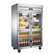 LIZE高身冷藏展示柜 二门四门保鲜陈列柜 酒水饮料冰箱