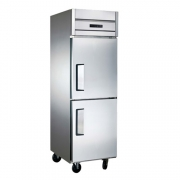 LIZE二门冰箱 不锈钢厨房冰柜 商用风冷无霜高身雪柜
